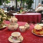 Tea Time Terrasse Ostfriesische Teestube