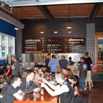 Inside Fremont Brewery