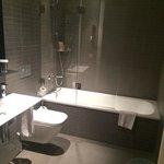 salle de bain très propre