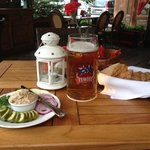 Starter and beer