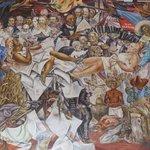 中の唯一見られた壁画