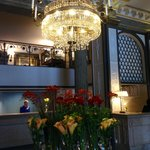 The lobby of the Grand Hotel Stockholm