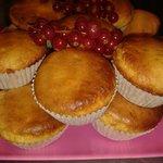 Homemade Gluten Free banana muffins