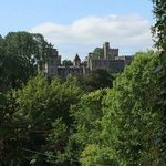view of Lismore castle from the Ballyrafter