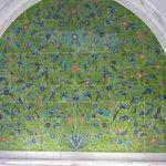 Мечеть шейха Зайда,Мозайка у входа