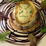 Goats Cheese & Beetroot Tart