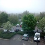 View of car park