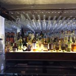 """Cozy and friendly. Bartender suggested some great """"for the table' apps. Can't wait!"""