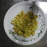 Orecchiette alla crema di asparagi e gorgonzola