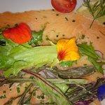 saumon gravlax (entrée)