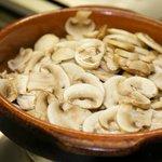 Gebratene Pilze / Vorspeisen