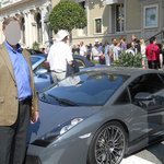 Luxury cars parked in front of the Casino Monte Carlo