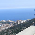 Monte Carlo from the road above