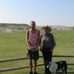 Me and the owner Jerry K. of K3 Ranch