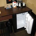 In Room Cooler/Mini Fridge - Hampton Inn Moncton