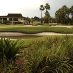 18th hole at Saddlebrook