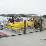 Large airboat