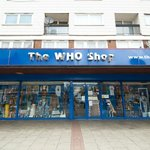 The Who Shop Storefront (no photos allowed inside)