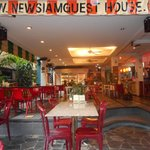 Ingresando al New Siam Guest House