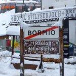 Top of Stelvio Pass