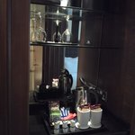 Attractive presentation of the tea / coffee making facilities