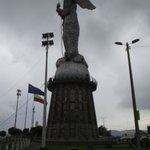 Uma visão panorâmica do monumento