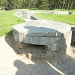 One of the bunkers at Vimy