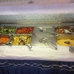 Salato e contorni a colazione