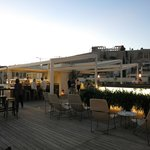 Herodion Hotel - Rooftop Terrace at sunset