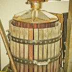A basket press used by Truckee River Winery
