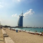 Jumeira beach (côté plage gratuite)