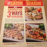 NEW  3 ways to enjoy Swordfish