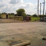 Dumpster/pool area