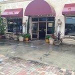 The entrance to Cristino's, I like the brickwork!