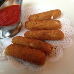 Cheese Sticks and Marinara!  Very Good!!