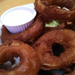 1/2 order onion rings