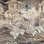 toothpick ball track - Chinatown