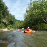 Kayaking the Green River