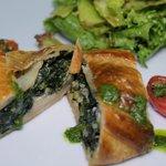 Spinach Strudel