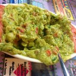 Guacamole- so good! *has jalapeños, onion and cilantro*usually not a fav but their use of fully