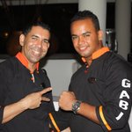 Two of the best servers at Gabi Club, Juan and Arronis.