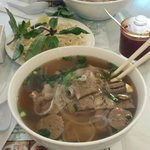 House Pho (meatballs, round steak, and brisket)