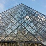 金字塔与卢浮宫
