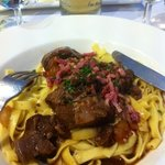 wild boar ragu with papardelle