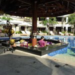 Pool Bar in the front section of the hotel