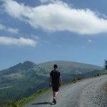 Making a walking tour in Gorbeia