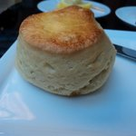 A filling scone - light and fluffy inside