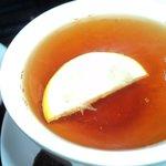 Delicious refreshing Earl Grey and lemon