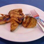 Honeyed aubergine free tapas