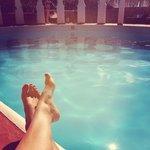 Très belle piscine d'un calme incroyable !